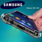 360° Shockproof Soft Silicone Transparent TPU Case Cover Skin For Samsung Galaxy