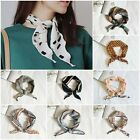 Women's Triangular Neckerchief Scarves Floral Print Neck Scarf Headband Kerchief