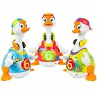 Huile Dancing Hip Hop Goose Development Musical Fun Toy Green, Red, Blue