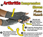 Anti slip Arthritis Gloves Soft Compression Hand Therapy Support Pain Relief