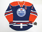 MARK MESSIER EDMONTON OILERS AUTHENTIC HOME REEBOK EDGE 7231 HOCKEY JERSEY