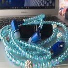 Decorations Earphone with Mic for SmartPhone fone de ouvido Beads In-ear Earbuds