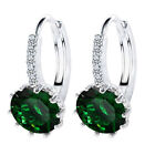 Vintage Crystal Bling Drop Earrings Women Christmas Gfit Fashion Wedding Jewelry