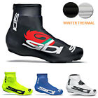 2016 Pro team winter Cycling Shoe Covers Bicycle Overshoe Fleece Thermal M-XXL