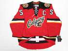 MARK GIORDANO CALGARY FLAMES AUTHENTIC THIRD REEBOK EDGE 20 7287 HOCKEY JERSEY