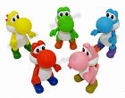 "5"" Super Mario Brothers / Bros Yoshi Dinosaur Action Figure Movable Figurine Toy"