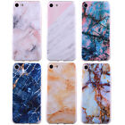 Marble Pattern TPU Case Slim Fit Ultra Thin Cover Cases For iPhone 7/7 Plus