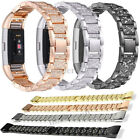Stainless Steel Metal Watch Band Bracelet Wristband Strap For Fitbit Charge 2