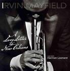 IRVIN MAYFIELD - A LOVE LETTER TO NEW ORLEANS NEW CD