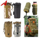 Outdoor Tactical Military Amry Gear Molle System Water Bottle Bag Kettle Pouch