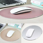 Aluminum Round Smooth Mousepad Game Mouse Mat for Macbook Apple PC US STOCK