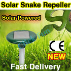1-20 X Solar Powered SNAKE REPELLER & Pest Repellent REPELL SNAKES Ultrasonic AU