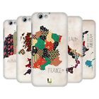 HEAD CASE DESIGNS PATTERNED MAPS HARD BACK CASE FOR HTC ONE A9s