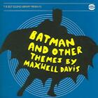 MAXWELL DAVIS - BATMAN AND OTHER THEMES NEW CD