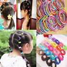 100X Elastic Rope Women Fashion Hair Ties Ponytail Holder Head Band HairbandsLL1