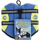 Paws Aboard Neoprene Doggy Life Jacket Extra Small-Blue & Yellow