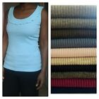 SALE LIMITED TIME ONLY Ladies/Girls H&M Ribbed Vests/Cami In 13 Colours
