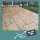 Teakwood paving patio packs -indian Sandstone Slabs Smooth - Nationwide Delivery