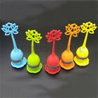 Lotus Tea Infuser Silicone  Stainless Steel Loose Leaf Strainer Filter Diffuser