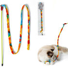 Colorful Cat and Kitten Toy-Wand,Teaser Cat Wand With Bell