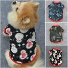 Pet Dog Hoodie Clothes Jacket Coat Puppy Cats Pet Fleece Shirt Pullover Sweater