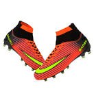 Professional Outdoor Soccer Cleats Ankle Top TF-FG Football Boots Sports Shoes