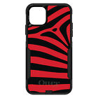 otterbox iphone 5 skins - OtterBox Commuter for iPhone 5 SE 6 S 7 8 PLUS X Black Red Zebra Skin Stripes