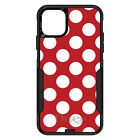 OtterBox Commuter for iPhone 7 8 Plus X XS Max XR White & Red Polka Dots