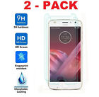 2X Premium Motorola Moto Z2 Play Real HD Tempered Glass Screen Protector Saver