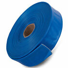 "32mm Blue PVC Layflat Hose Water discharge pump irrigation 1 1/4"" Inch"