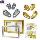 3D Baby Hand Foot Print Casting Kit Keepsake Shadowbox Photo Frame / Material