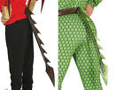 Latex Clip On Dragons Tail Fancy Dress Accessory Cosplay Role Play Costume