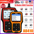 OBD2 Code Reader Car Check Engine Light I/M Readiness Diagnostic Scan Tool AD410