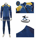 Star Trek Beyond Captain Kirk Commander Costume Cosplay Uniform Halloween Outfit on eBay