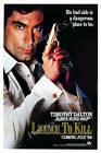 Posters USA - 007 Licence to Kill Movie Poster Glossy Finish - MOV202 $18.51 CAD on eBay