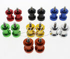 New 6mm Swingarm Spools Spool Sliders For Aprilia RS 50 RS 250 RS 250 Challenge