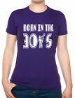 Born In The 30's Thirties Birthday Funny Ladies T Shirt  Size S-XXL