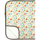 Kushies Deluxe Flannel Change Pad | Waterproof Bottom & Bias Trim for Durability