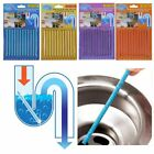 12~60Pcs Magic Clean Bar Sani Sticks Drain Pipes Clear Odor Free Decontamination