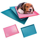 Pets Toilet Home Dog Pee Training Pan Flat Tray PVC Easy Clean Potty Urinal Mat