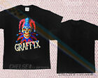 New Limited 1990s GRAFFIX bong graffiti vtg 90s rap hip hop T-shirt weed 4dk1