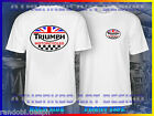 TRIUMPH UK RACING MOTORCYCLE T-SHIRT TRIUMPH MOTORCYCLE T-SHIRT BIKER TEE SHIRT $22.8 CAD on eBay