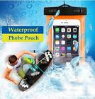 Universal Outdoor PVC plastic dry case sport cellphone protection waterproof bag