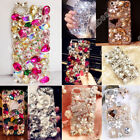 Acrylic 3D Bling Crystal Diamonds Rhinestone TPU+PC Back Case Cover for Huawei