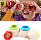 Wooden Educational Magic Kaleidoscope Learning Puzzle Toy Baby Kid Children tgd2