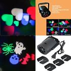 RGB Stage LED Light Xmas Party Disco DJ Change Pattern Rotating Projection Lamp