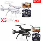 Syma X5SW 2.4G RC Quadcopter Drone UAV RTF UFO with WIF HD Camera FPV Real Time