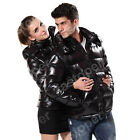 Mens Coat Down Jacket Hooded Greatcoat Black Dark Red Camouflage Color S-2XL HOT