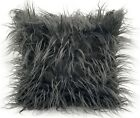 large cushion cover or cushions long Shaggy faux fur cushions 21x21