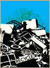 Choose Paper or Canvas POSTER.Recycle.Trash.Environment.Home decor print.q422